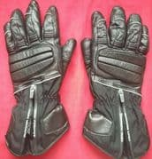 HEIN GERICKE SUMMIT GTX GORETEX LEATHER WATERPROOF MOTORCYCLE GLOVES Size XL 10